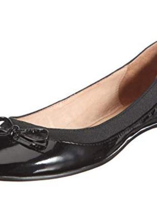 Кожаные туфли балетки от buffalo