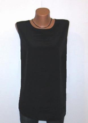 Роскошная шелковая майка топ oversize размер: 56-xxl