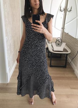 Красивенное платье в горох от peruna😍