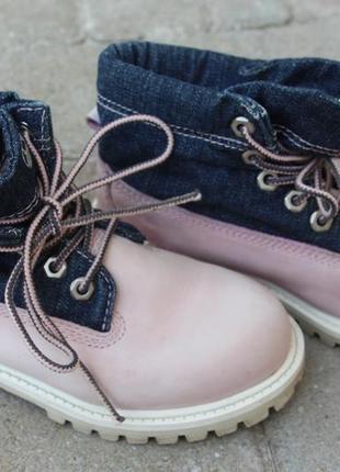 Демосезонные ботинки timberland