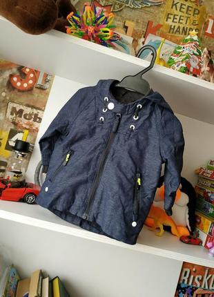 Крутая куртка ветровка next на 3-6 мес