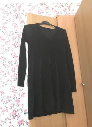 Вечернее чёрное платье ellos
