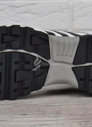 Кроссовки мужские кожаные белые adidas adipower boost вьетнам5 фото