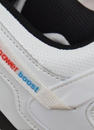 Кроссовки мужские кожаные белые adidas adipower boost вьетнам4 фото