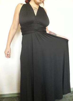 Платье трансформер большого размера