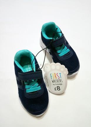 Синие кроссовки для мальчика george