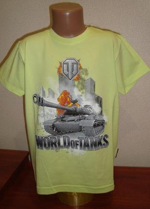 Футболка для мальчика world of tanks танки