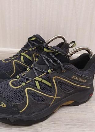 Трекинговые кроссовки ботинки salomon ( lowa meindl )