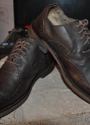 Стильные супер качественные броги- туфли полуботинки caterpillar 1904
