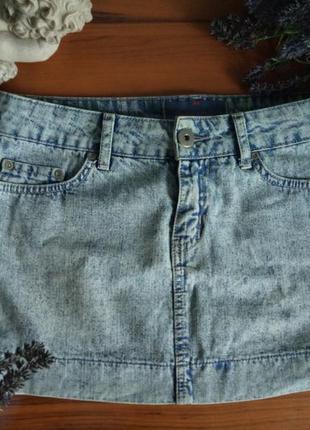 Юбка джинс варенка