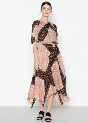 Обалденное платье асимметричный низ,бохо стиль