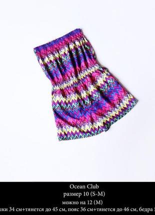 Шифоновый легкий разноцветный ромпер размер m1 фото