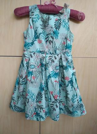 Платье kiabi на 6 лет