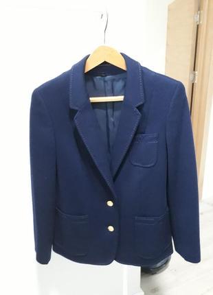 Новый шерстяной удлиненный пиджак berghaus city жакет 100% шерсть
