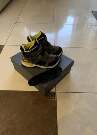 Зимние ботинки ecco 32 размера
