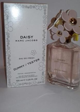 Marc jacobs daisy eau so fresh туалетная вода 125 мл тестер