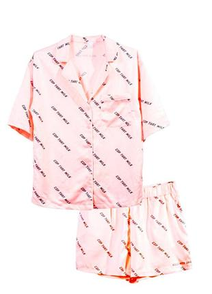 Оригинальная пижама рубашка+шорты от бренда h&m разм. 40