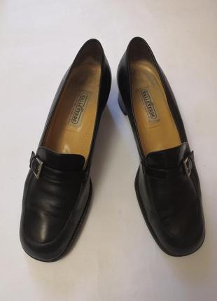Брендовые кожанные туфли vero cuoio, размер 41