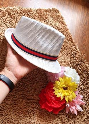 Новая летняя шляпа челентанка унисекс, с биркой