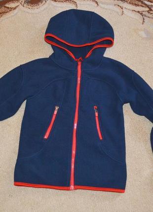 Куртка флисовая h&m р.8-10 лет 134-140 см