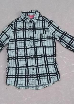 Рубашка 8-9 лет 128-134 см