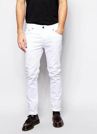 Белые мужские джинсы lewis original