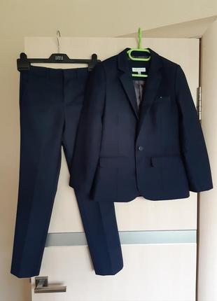 Фирменный костюм школьная форма брюки пиджак john rocha 8-10 лет