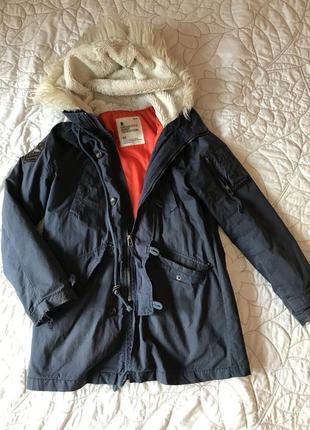 Парка куртка зимняя осенняя весенняя тёплая классная с подкладкой