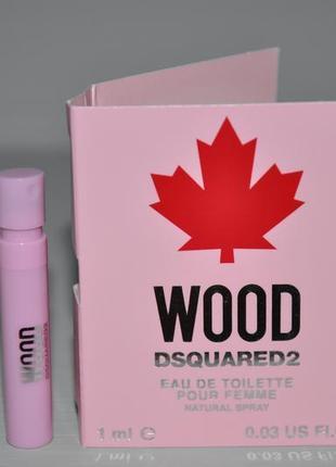 Dsquared2 wood pour femme туалетная вода (пробник)