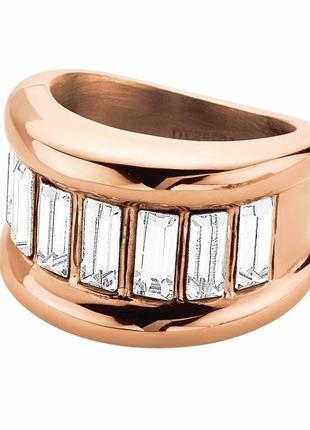 Массивное кольцо с кристаллами сваровски, swarovski, dyrberg kern, ори