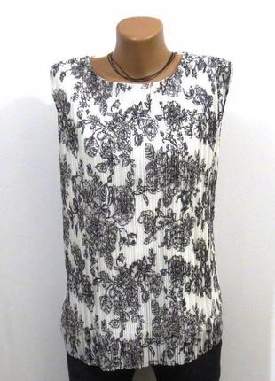 Роскошная блуза без рукавов от seppala woman размер: 54-xl, xxl