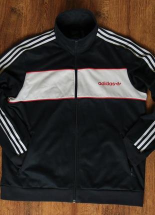 Мужская олимпийка adidas originals london pack block track jacket