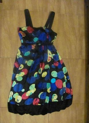 Marc jacobs шелк платье сарафан