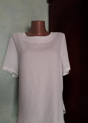 Блуза с оригинальной спиной