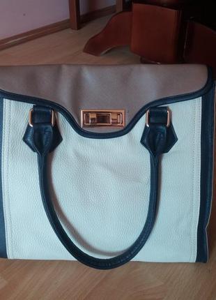 Красивая сумка шоппер от f&f