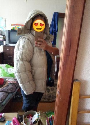 Зимняя дутая куртка