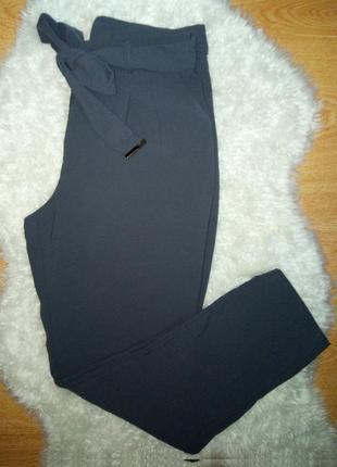 Штаны брюки чиносы с высокой посадкой