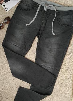 Fb sister стильные женские джинсы-джоггеры
