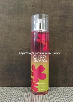 Мист (спрей) для тела bath & body works - cherry blossom