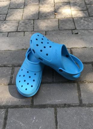 Кроксы crocs by jibbitzz оригинал m7-w9
