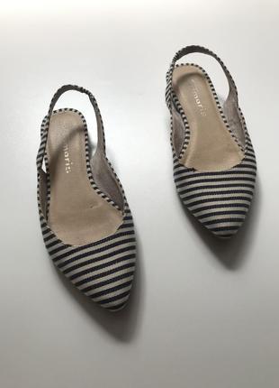 Туфли в полоску