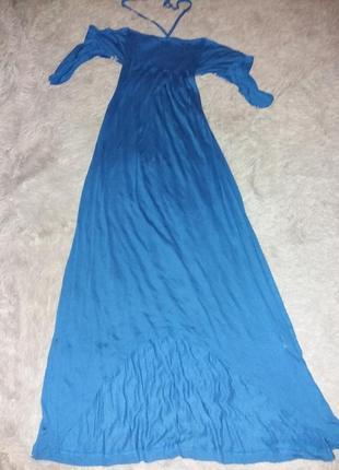 Платье длиное