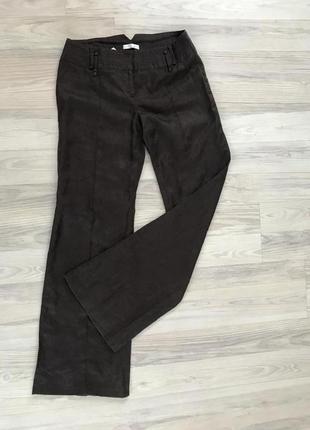 Льняные штаны promod