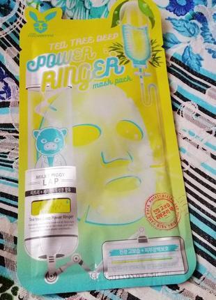 Тканевая маска для проблемной кожи elizavecca face care tea tree