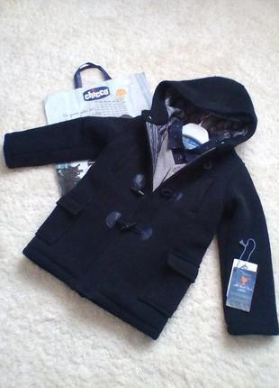 Шикарное деми пальто ,chicco р116
