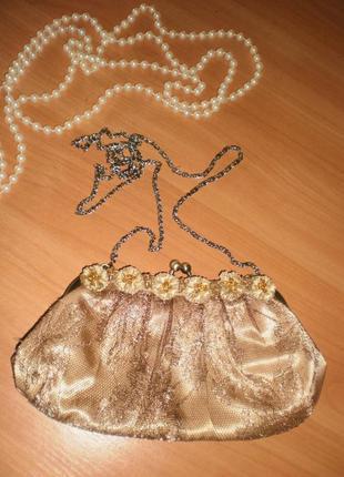 Нереально класний шикарний клатч-сумочка