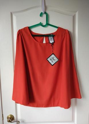 Блуза цвета ржавчины