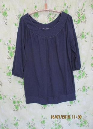 Хлопковая туника блуза/батал 54-56 размер