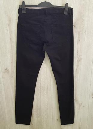 Черные мужские джинсы4 фото