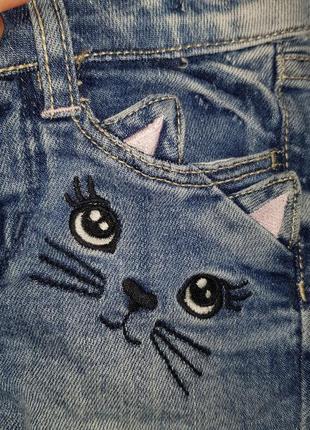 H&m шорты котик